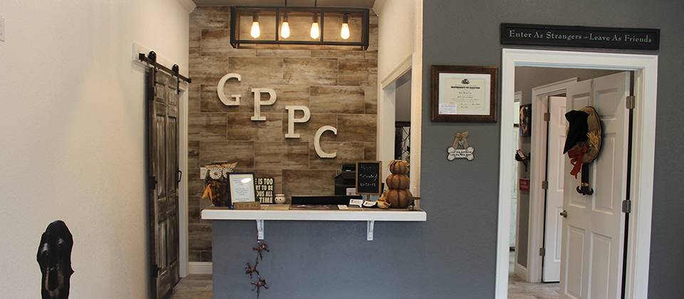 Gulley Park Pets Clinic Front Desk